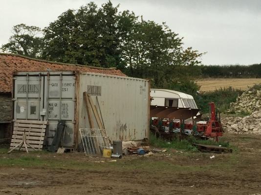 Evicted caravan